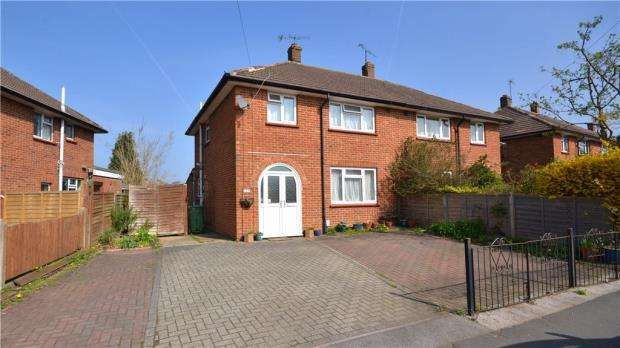 3 Bedrooms Semi Detached House for sale in Upper College Ride, Camberley, Surrey