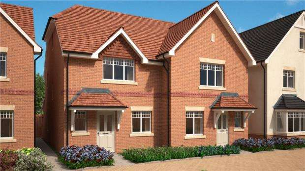 3 Bedrooms Semi Detached House for sale in Stockwood Way, Farnham, Surrey