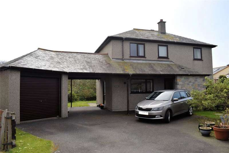 3 Bedrooms Detached House for sale in Mitchell Close, The Lizard, Helston