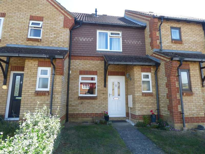 2 Bedrooms Terraced House for sale in Clover Avenue, Bedford, MK41 0TZ