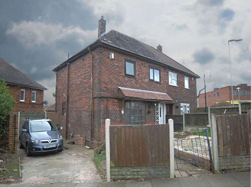 3 Bedrooms Semi Detached House for sale in Swaythling Grove, Bentilee, Stoke-On-Trent, ST2 0LW
