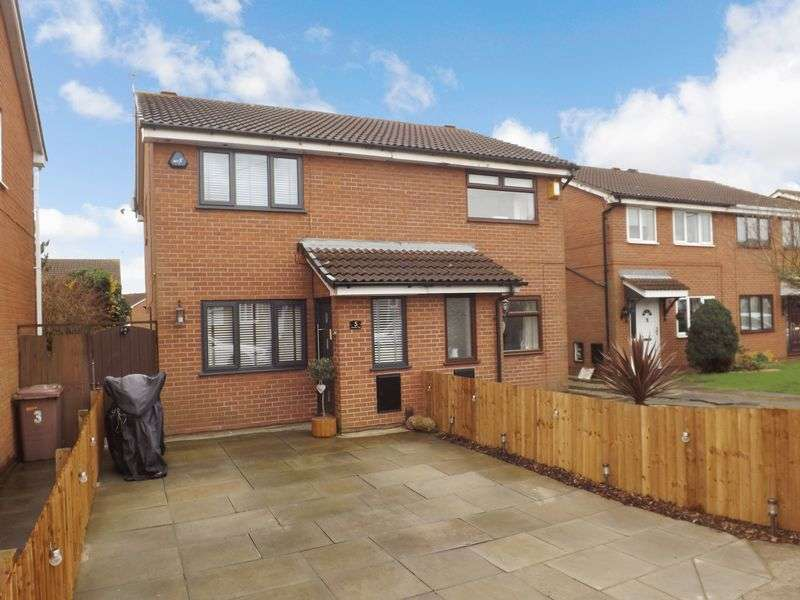 2 Bedrooms Semi Detached House for sale in Wetherby Close, Newton-Le-Willows