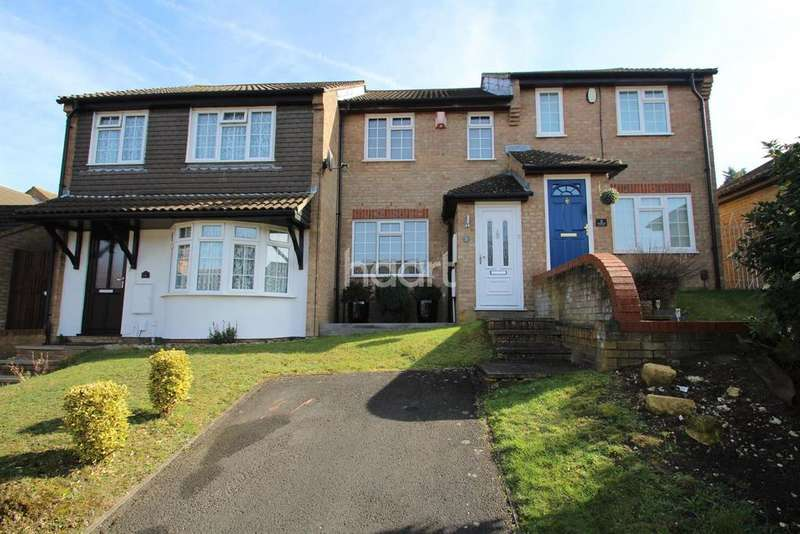 2 Bedrooms Terraced House for sale in Christie Close, Walderslade