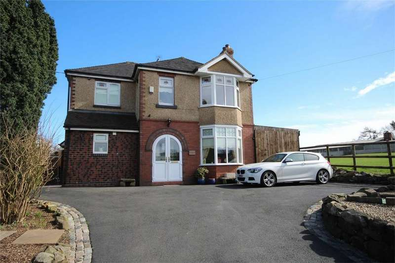 3 Bedrooms Detached House for sale in Godley Lane, Dilhorne, Staffordshire