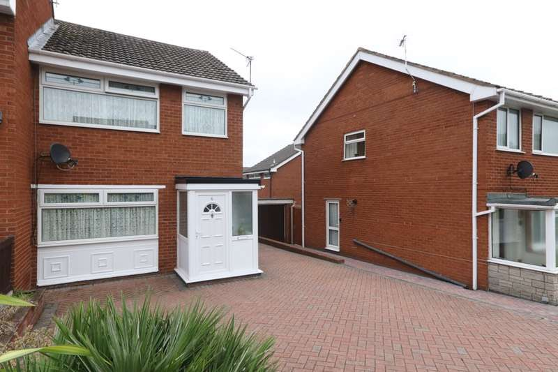 3 Bedrooms Semi Detached House for sale in Bodlondeb, Flint, Flintshire, CH6