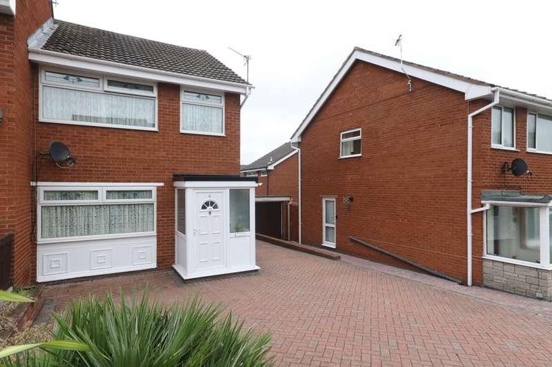 3 Bedrooms Semi Detached House for sale in Bodlondeb, Flint, Flintshire, CH6