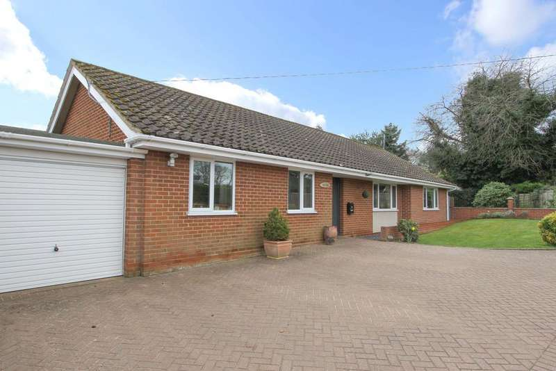 3 Bedrooms Detached Bungalow for sale in Fairholme Road, Newton St Faith