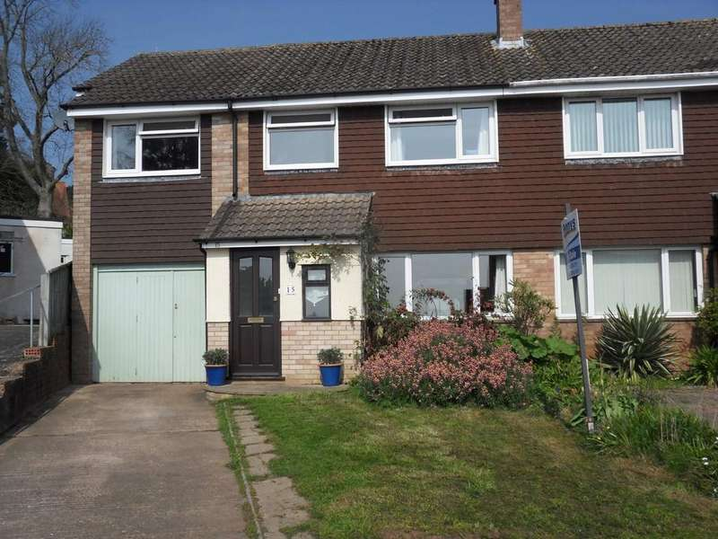 4 Bedrooms Semi Detached House for sale in Little Meadow, Exmouth