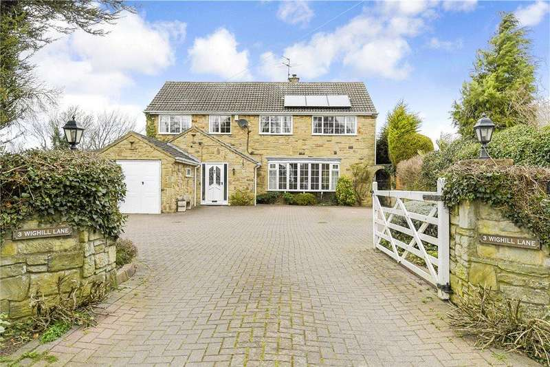 5 Bedrooms Detached House for sale in Wighill Lane, Walton, Wetherby, West Yorkshire
