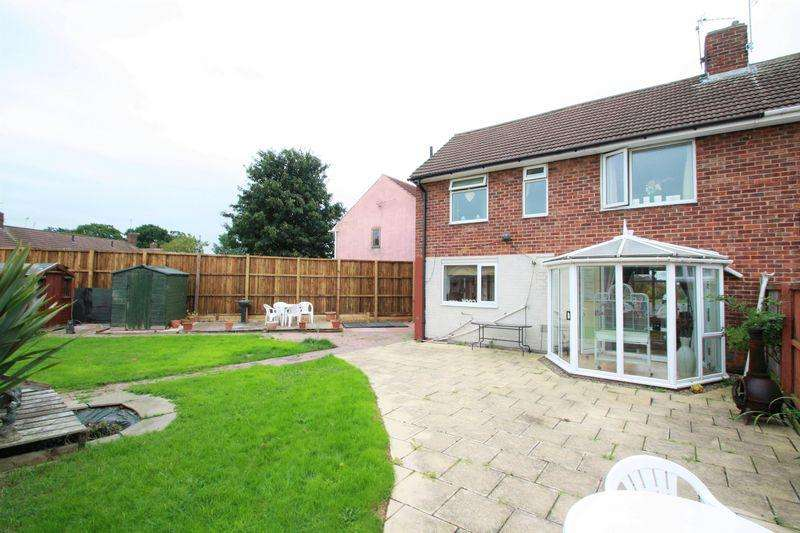 2 Bedrooms Semi Detached House for sale in Ruislip Close, Roseworth, Stockton TS19 9AF