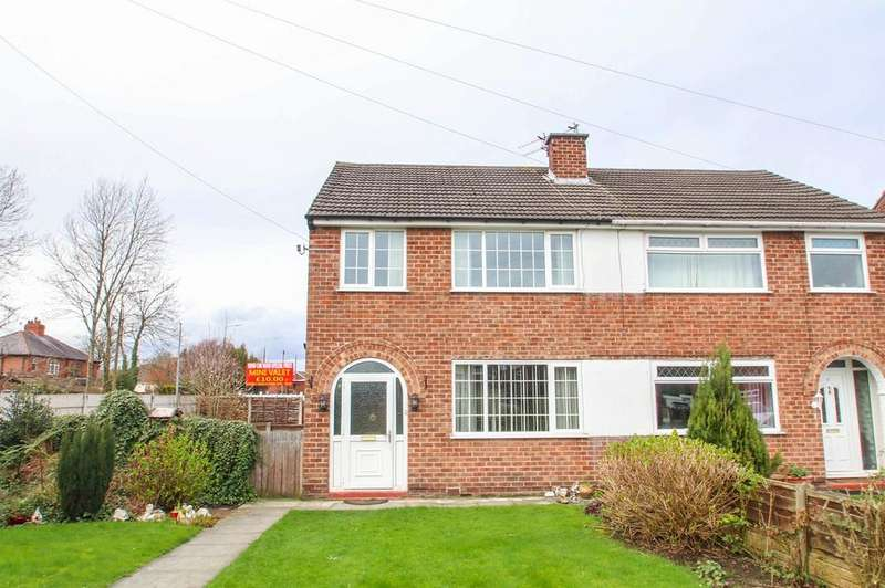 3 Bedrooms Semi Detached House for sale in Sheldon Close, Partington, Manchester, M31