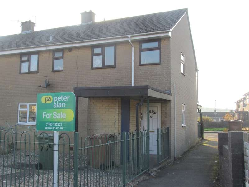2 Bedrooms Flat for sale in Phillips Walk, Rhymney, Tredegar