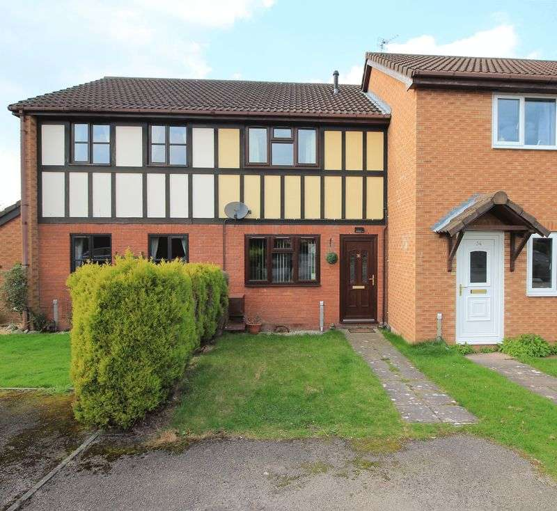 2 Bedrooms Terraced House for sale in Ashlands Road, Oswestry