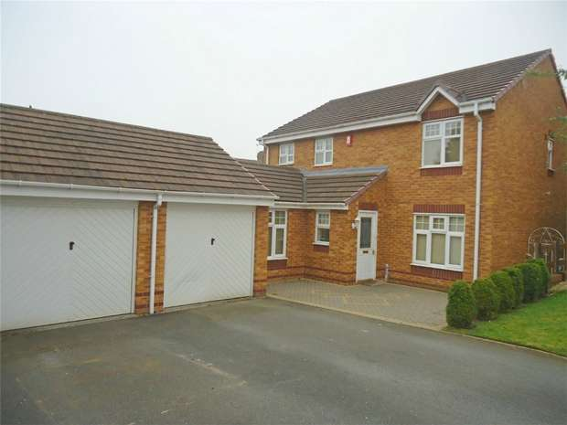 4 Bedrooms Detached House for sale in Winterborne Gardens, Heritage Park, Nuneaton, Warwickshire