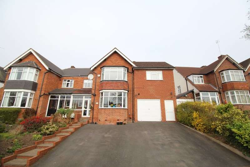 5 Bedrooms Semi Detached House for sale in Doveridge Road, Hall Green, Birmingham