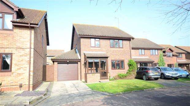 4 Bedrooms Detached House for sale in Turmeric Close, Earley, Reading