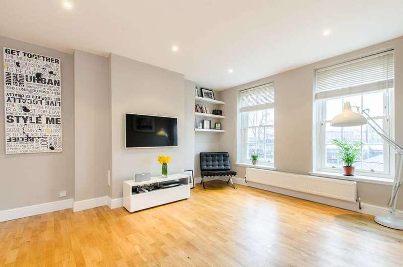 3 Bedrooms Maisonette Flat for sale in Ferndale Road, Brixton, SW9