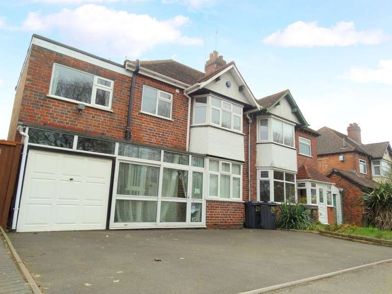4 Bedrooms Semi Detached House for sale in Olton Boulevard East, Acocks Green