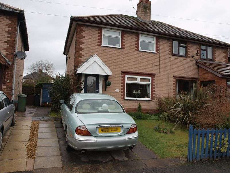 2 Bedrooms Semi Detached House for sale in Penrhyn Road, Northwichm CW8 4BT