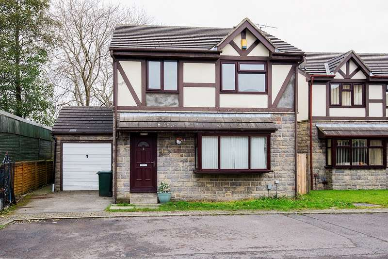 3 Bedrooms Detached House for sale in Branksome Court, Bradford, West Yorkshire, BD9