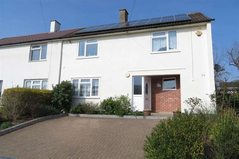 4 Bedrooms Semi Detached House for sale in Garston Crescent, Calcot, Reading