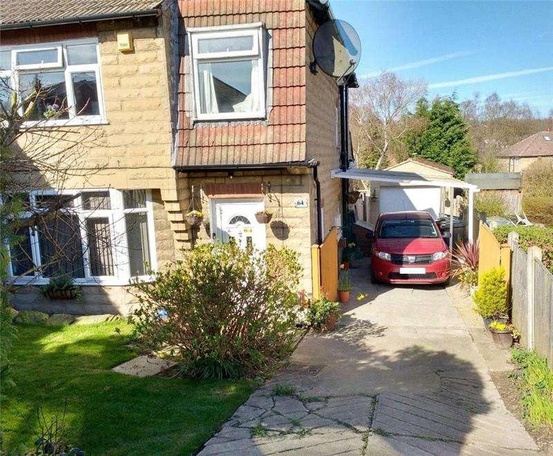 4 Bedrooms Semi Detached House for sale in Buckstone Oval, Alwoodley, Leeds