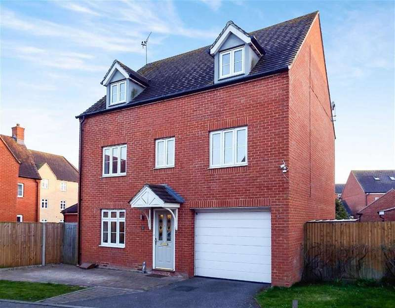5 Bedrooms Detached House for sale in Finbracks, Stevenage, Hertfordshire, SG1