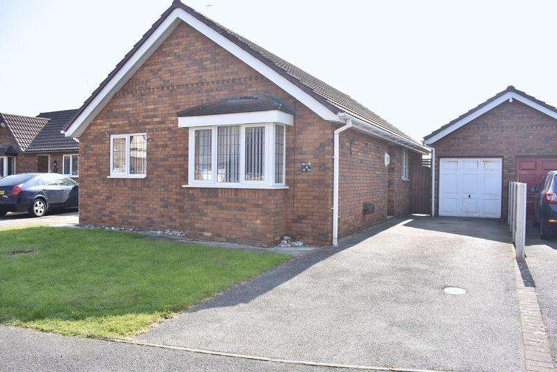 3 Bedrooms Detached Bungalow for sale in Lon Olwen, Kinmel Bay