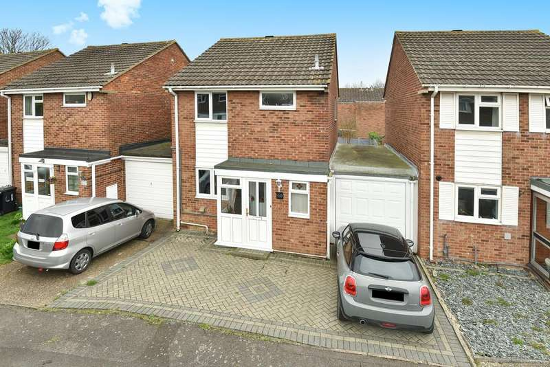 3 Bedrooms Link Detached House for sale in Thackeray Road, Larkfield