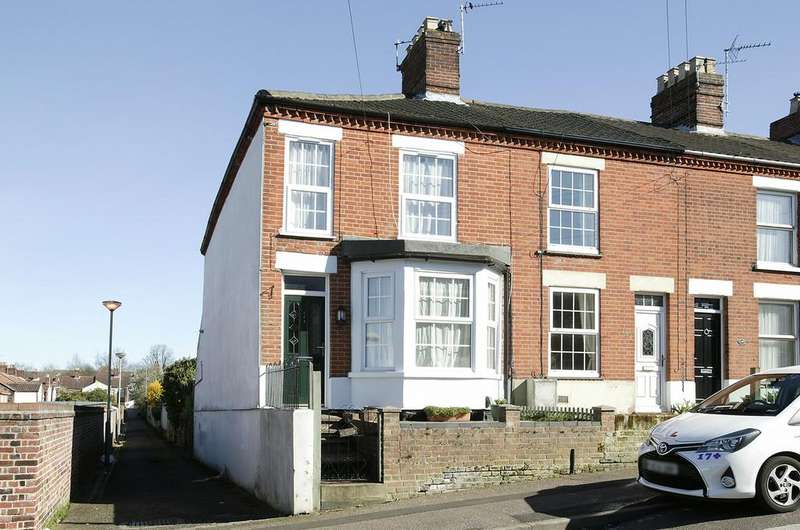 3 Bedrooms End Of Terrace House for sale in Spencer Street, Norwich