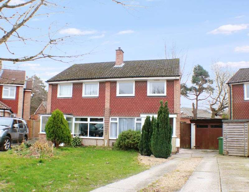 3 Bedrooms Semi Detached House for sale in Woodthorpe Gardens, Sarisbury Green