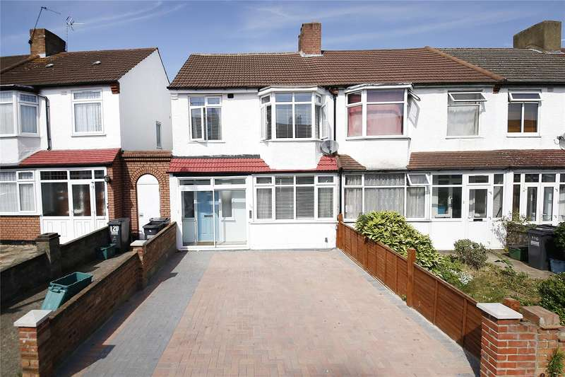 3 Bedrooms End Of Terrace House for sale in Stafford Road, Croydon