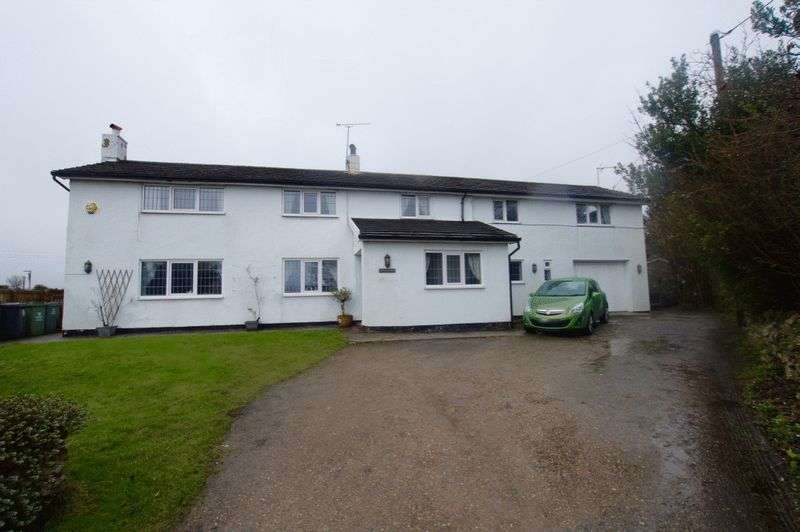 4 Bedrooms Detached House for sale in Old Road, Bwlchgwyn, Wrexham