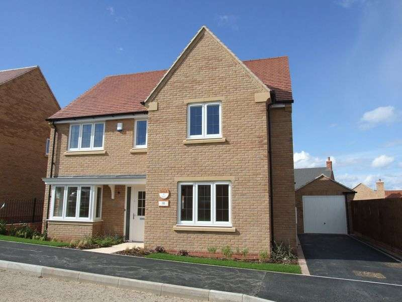 4 Bedrooms Detached House for sale in Doble Crescent, Hathern