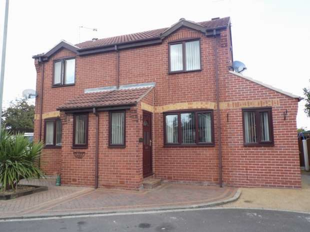 2 Bedrooms Semi Detached House for sale in Millside Court Bentley Doncaster