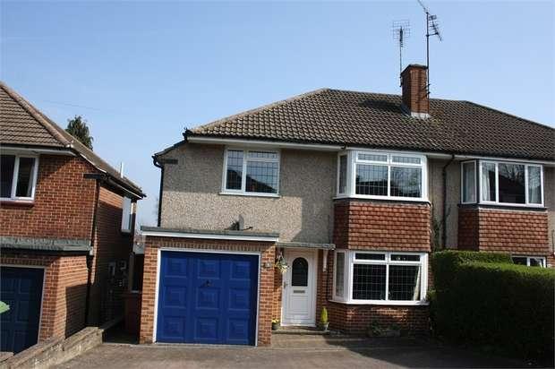 4 Bedrooms Semi Detached House for sale in Churchill Avenue, ALDERSHOT, Hampshire