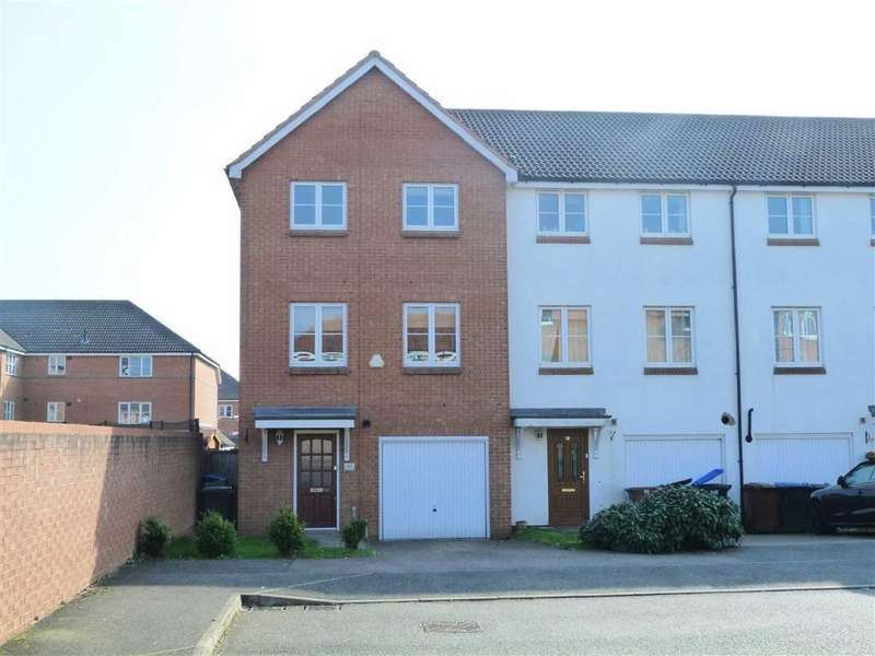 4 Bedrooms End Of Terrace House for sale in Purdom Road, Welwyn Garden City