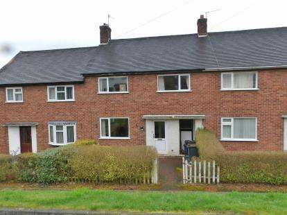 3 Bedrooms Terraced House for sale in Leaswood Place, Clayton, Newcastle Under Lyme, Staffs