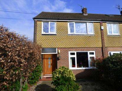 3 Bedrooms End Of Terrace House for sale in Victoria Road, Sale, Trafford, Greater Manchester