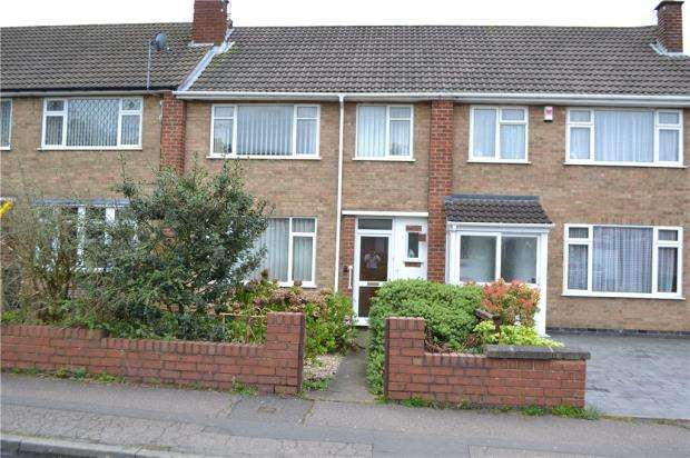 3 Bedrooms Terraced House for sale in Kendal Rise, Allesley Park, Coventry, West Midlands