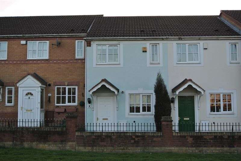2 Bedrooms Terraced House for sale in Farriers Green, Lawley Bank, Telford, Shropshire.