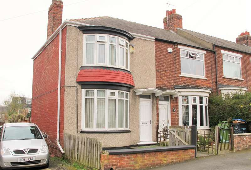 3 Bedrooms End Of Terrace House for sale in Studley Road, Linthorpe, Middlesbrough, TS5 5BP
