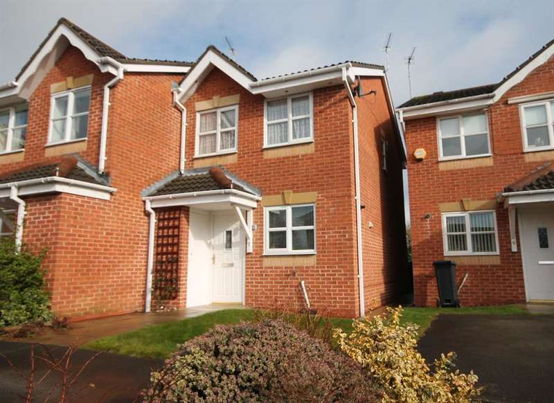 2 Bedrooms Semi Detached House for sale in Lockyer Close, York, YO30 6QE