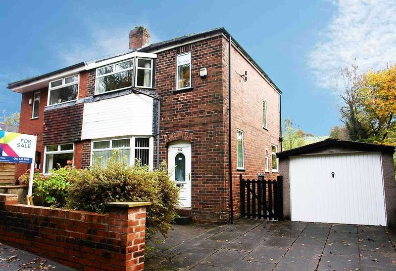 3 Bedrooms Semi Detached House for sale in 582 Rochdale Road, Royton