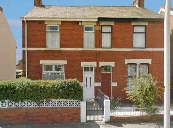 2 Bedrooms Semi Detached House for sale in Vicarage Lane, Blackpool, Lancashire, FY4 4NG