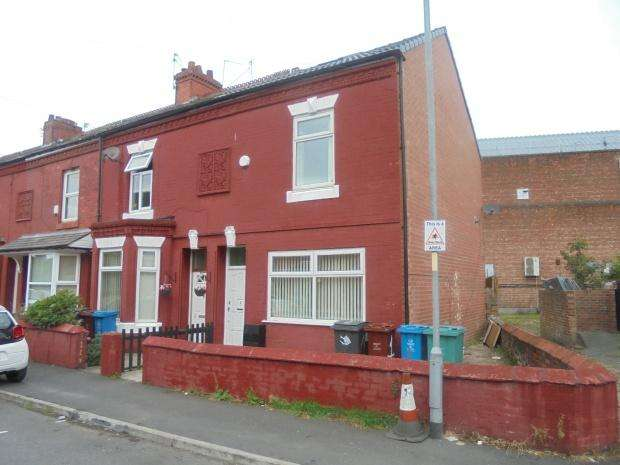 3 Bedrooms End Of Terrace House for sale in York Street, Levenshulme, Manchester, M19