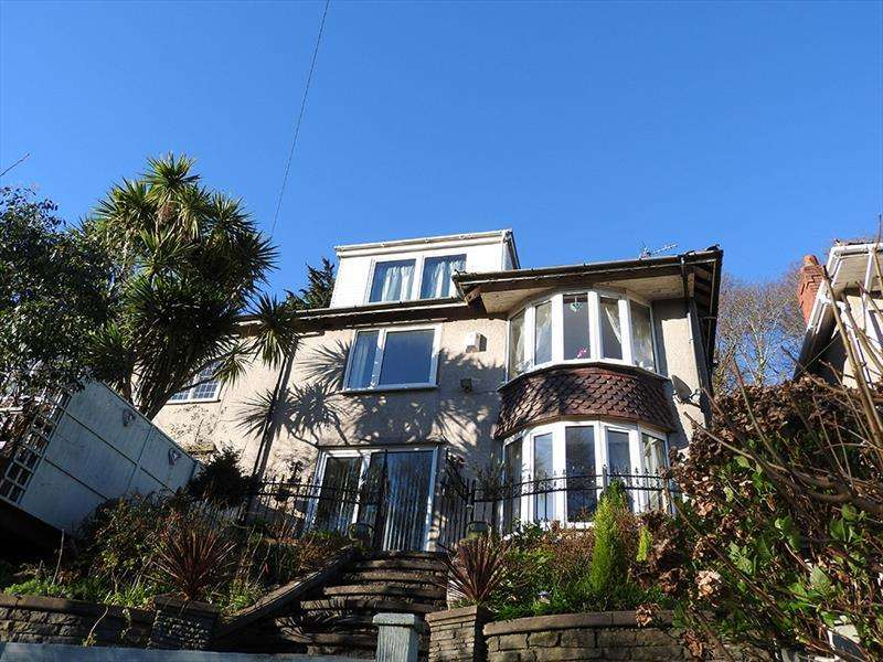 4 Bedrooms Semi Detached House for sale in Penlan Crescent,Uplands,Swansea
