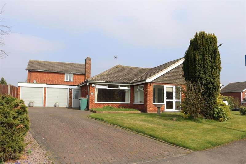 3 Bedrooms Detached Bungalow for sale in St. Michaels Drive, Appleby Magna, Swadlincote