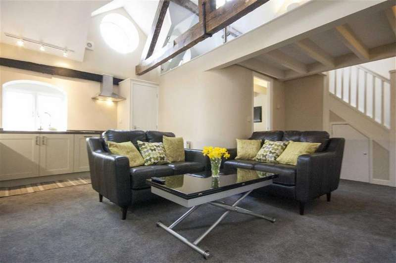 2 Bedrooms Penthouse Flat for sale in Swan Hill, Shrewsbury, Shropshire