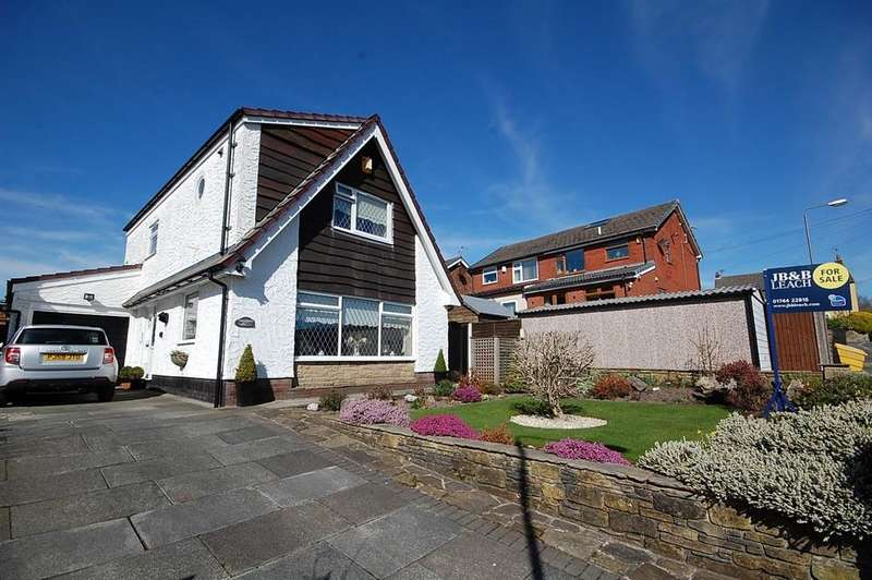 3 Bedrooms Detached House for sale in Gorsey Brow, Billinge, Wigan